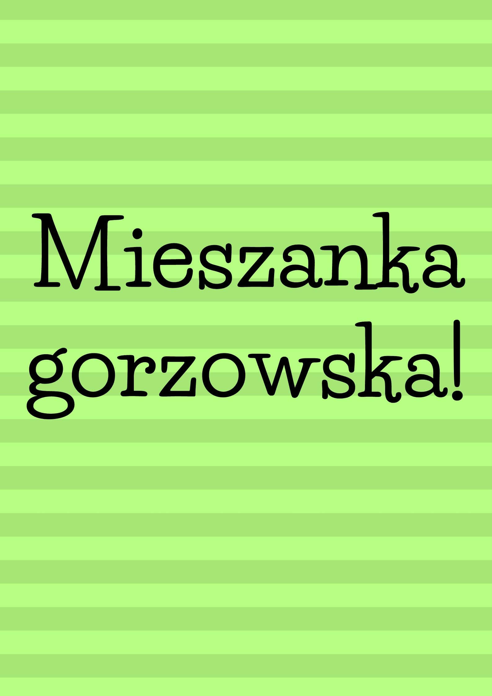 """""""Mieszanka gorzowska"""" i jej szerokie zastosowanie"""