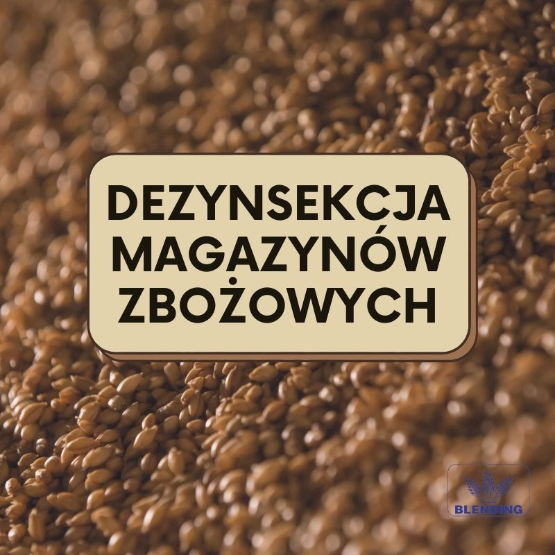 Magazyn zbożowy.